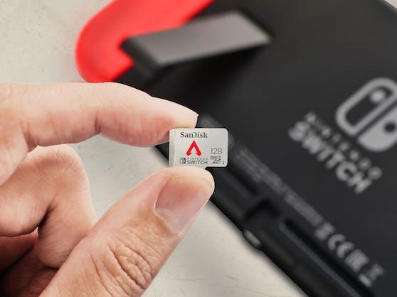 SanDisks neue Apex Legends-Speicherkarte für Nintendo Switch.