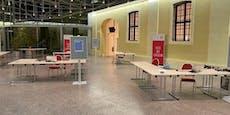 Stadt verdoppelt Testkapazitäten in Schönbrunn