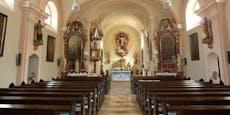 Einbrecher wüteten in der Pfarrkirche in Hadersdorf