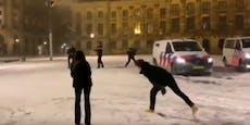 Holland regelt Schneeball-Schlachten nun per Gesetz