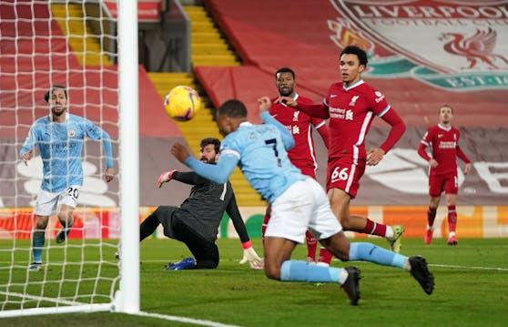 Liverpool gegen Manchester City
