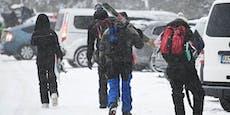 Keine Masken! Polizei knallhart gegen Ski-Fahrer