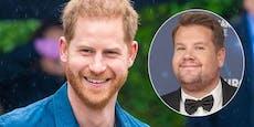 """Prinz Harry singt mit James Corden """"Carpool Karaoke"""""""