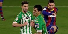 3:2! Barca-Siegeszug hält gegen Betis mit Verspätung