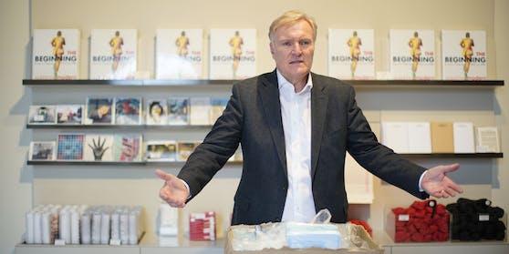 Albertina-Direktor Klaus Albrecht Schröder