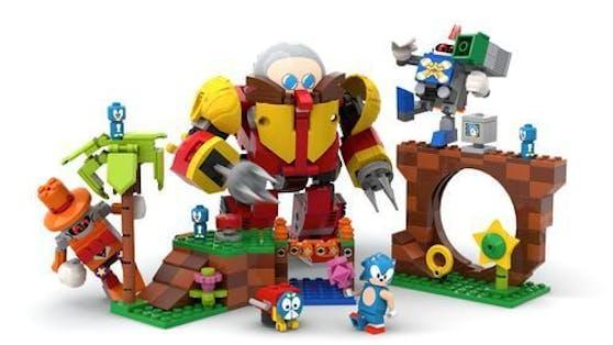 Lego Ideas travaille sur la production de la Sonic Mania Green Hill Zone.