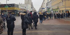 Massenansturm auf Wiener Geschäfte nach Lockdown
