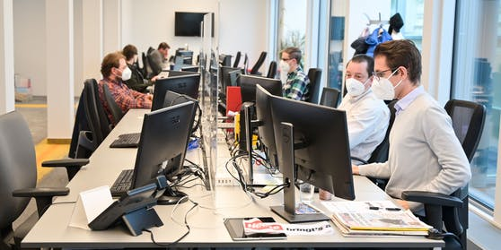 "Der ""Heute""-Newsroom in der Wiener City"