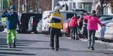 Skiurlaub trotz des Verbots – diese Strafen drohen
