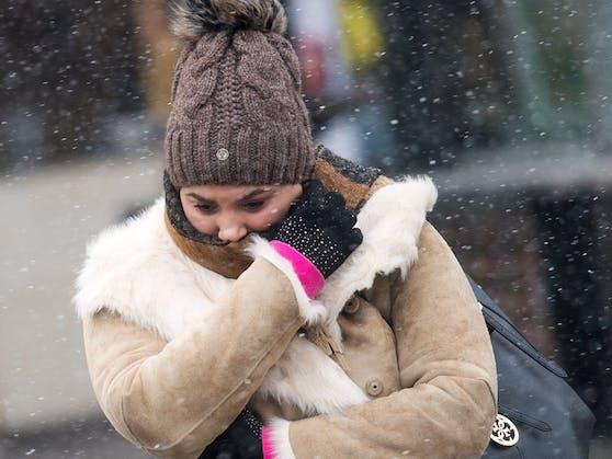 Kälte in Wien: In der Nacht auf 26. Februar 2018 wurden minus 15,8 Grad gemessen.