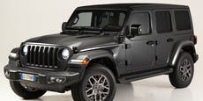 Der Jeep Wrangler mit Plug-in-Hybrid kommt im Frühling