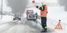 29-Jähriger stirbt bei Autounfall im Schneematsch