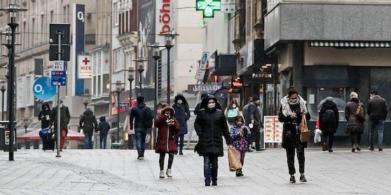 Der Lockdown in Deutschland dürfte verlängert werden.