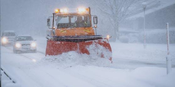 Der Schnee kommt zurück nach Österreich.