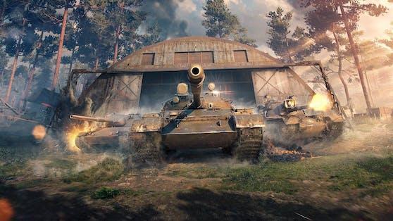 Beliebtes Panzerspiel kommt auf die Game-Plattform Steam.