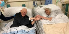 Paar starb nach 70 Ehejahren an Covid – das letzte Foto