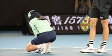 Ballmädchen kollabiert! Tennis-Stars eilen zur Hilfe