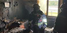 Drei Verletzte bei Wohnungsbrand in Wien-Liesing
