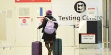 England verlangt bei Einreise drei Corona-Tests