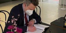 Wiens Bürgermeister erwies Arik Brauer die letzte Ehre