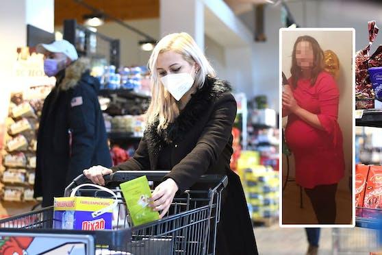 Eine Wienerin (27) sollte trotz Schwangerschaft FFP2-Maske tragen.