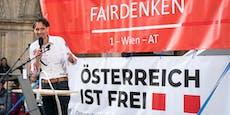 Anti-Corona-Aktivist Rutter wegen Verhetzung angeklagt