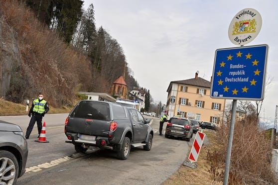 Grenzkontrollen an der bayrischen Grenze