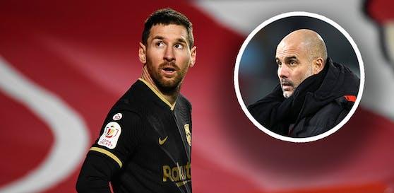 Pep Guardiola hat einen Messi-Plan.