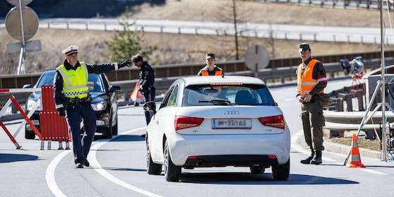 Grenzkontrollen an den Tiroler Außengrenzen