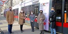 Frauentags-Bim kurvt den ganzen März durch Wien