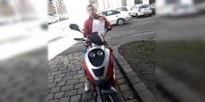 Wiener Tankstelle straft Teenie, weil er Moped putzte