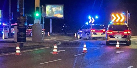 In Wien-Favoriten ereignete sich Sonntagnacht ein Verkehrsunfall