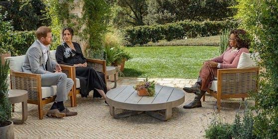 Das Interview von Oprah Winfrey mit Harry und Meghan fand auf dem schönen Landsitz der Ex-Royals statt.