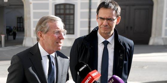 Wilfried Haslauer und Markus Wallner