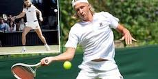 Wie der Papa - Sohn von Tennis-Ikone gewinnt Turnier