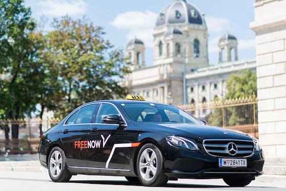 Die Taxivermittlungsplattform FREE NOW bietet ab 1.3. verschiedene Taxi-Services in unterschiedlichen Preiskategorien an.