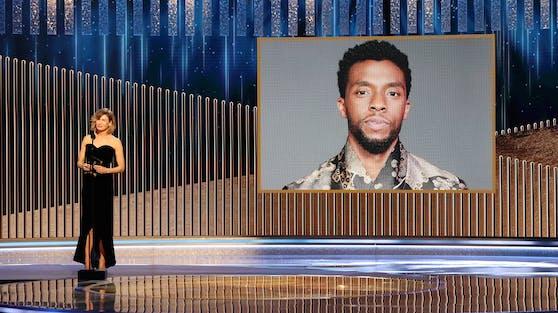 """Für seine Rolle in """"Ma Rainey's Black Bottom"""" bekam Chadwick Boseman posthum schon einen Golden Globe. Folgt nun auch der Oscar als Bester Schauspieler?"""