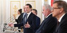 Kanzler Kurz macht neue Corona-Ansage für Österreich