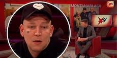 Monte fällt Mikro kurz vor TV-Auftritt in die Toilette