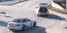 Tuning-Fan riskiert Verletzungen für Video-Dreh mit BMW