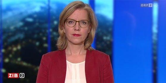 "Verkehrsministerin Leonore Gewessler in der ORF-""ZiB 2""."