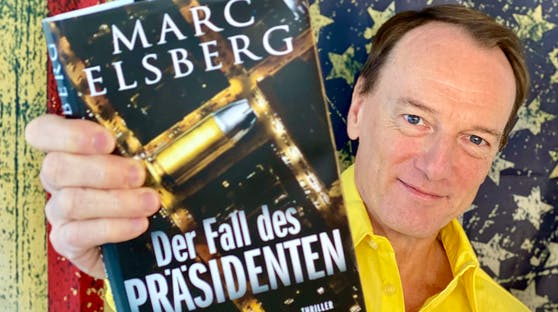 """Marc Elsberg mit seinem neuen Thriller """"Der Fall des Präsidenten"""""""