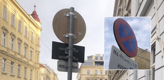Diese neuen Verkehrsschilder machten ihr Debut in Wien-Hernals