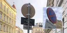 Wien testet erste umweltfreundliche Verkehrsschilder