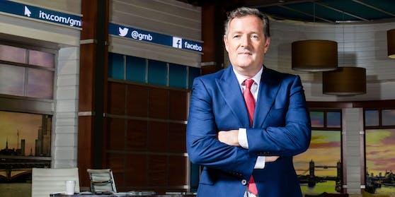 "Piers Morgan im ""Good Morning Britain""-Studio 2017"