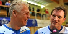 Herzog sorgt mit Glückwünschen an Polster für Lacher
