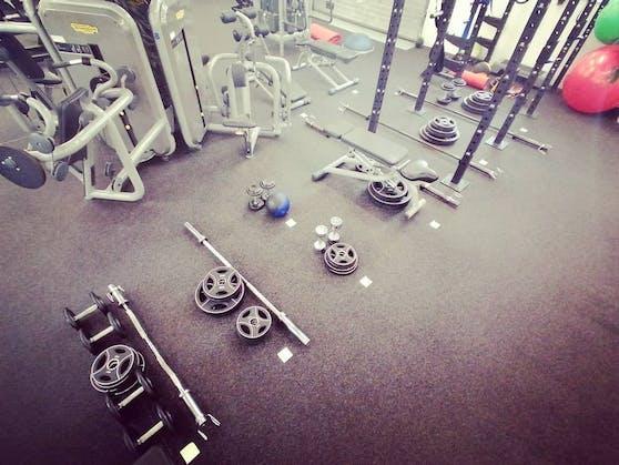"""Das """"Atvero"""" Fitnessstudio ist seit Monaten zu."""