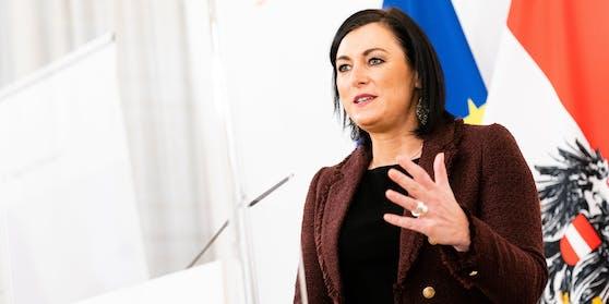 Tourismus-, Regionen-, und Landwirtschaftsministerin Elisabeth Köstinger (ÖVP).