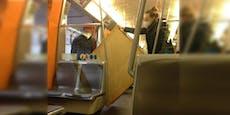 Wiener benutzten U-Bahn als Umzugshilfe für Kommode