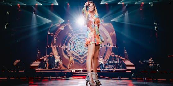 Auf der Bühne ist Andrea Berg in ihrem Element